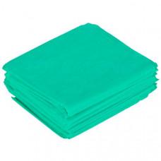 Простынь одноразовая  70*200 зеленая, 10 шт